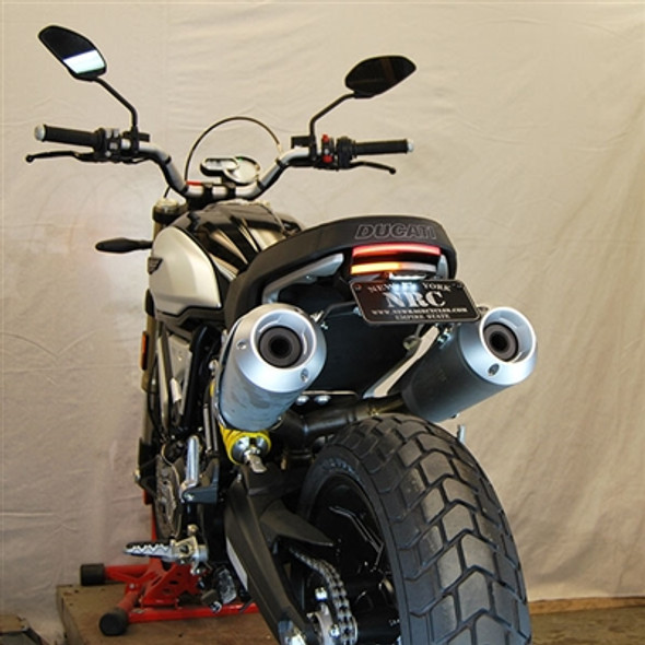 New Rage Cycles LED Fender Eliminator Kit - 18-20 Ducati Scrambler 1100