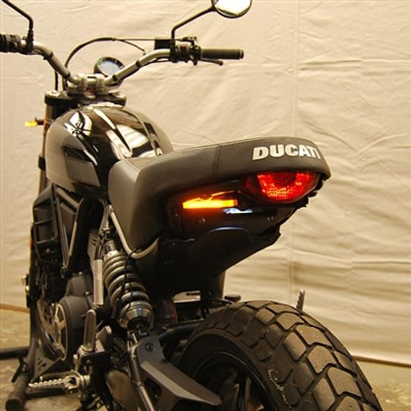 New Rage Cycles LED Fender Eliminator Kit - 16-20 Ducati Scrambler Sixty2