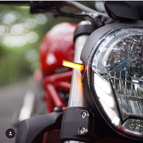 New Rage Cycles LED Front Turn Signals - 10-14 Ducati Monster 796