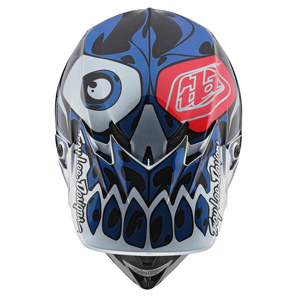 Troy Lee Designs SE4 Polyacrylite Helmet - Skully