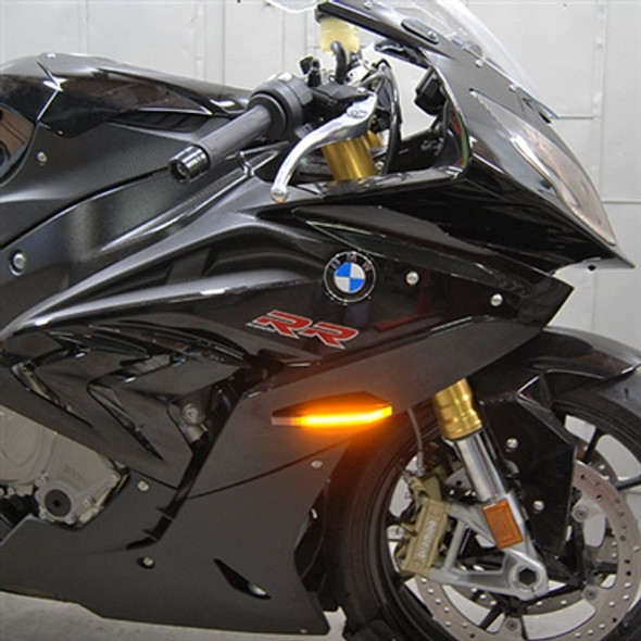 New Rage Cycles LED Front Turn Signals - 10-19 BMW S1000RR