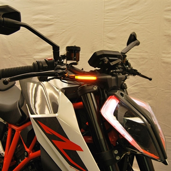New Rage Cycles LED Front Turn Signals - 14-19 KTM 1290 Superduke R