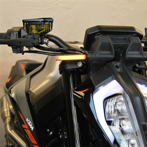 New Rage Cycles LED Front Turn Signals - 18-20 KTM 790 Duke