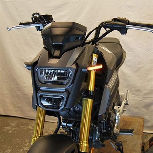 New Rage Cycles LED Front Turn Signals - 14-20 Honda Grom