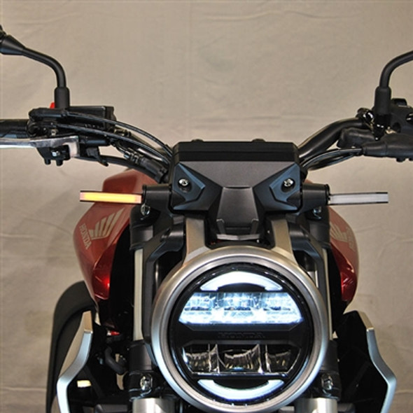 New Rage Cycles LED Front Turn Signals -19-20 Honda CB300R