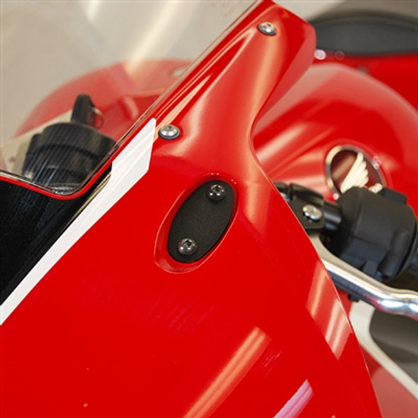New Rage Cycles Mirror Block Off Plates - 13-20 Honda CBR600RR