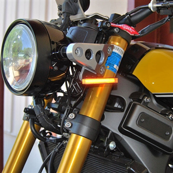 New Rage Cycles LED Front Turn Signals - 16-20 Yamaha XSR900