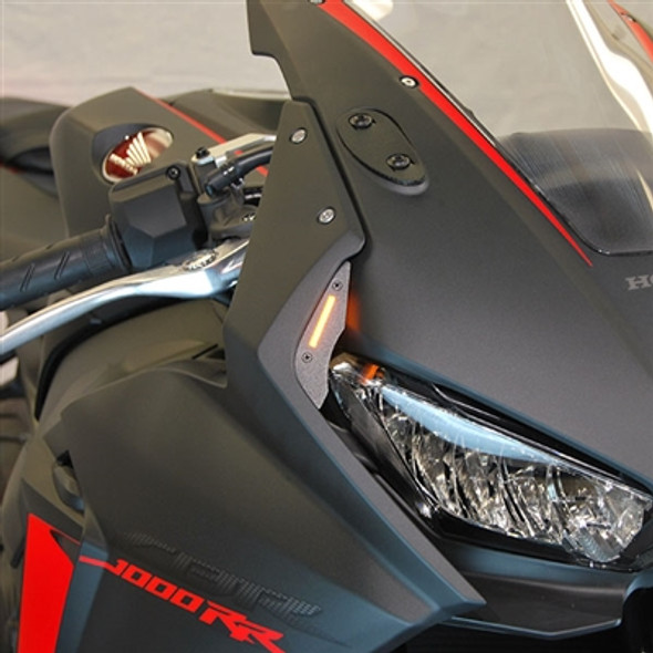 New Rage Cycles LED Front Turn Signals - 17-19 Honda CBR 1000RR