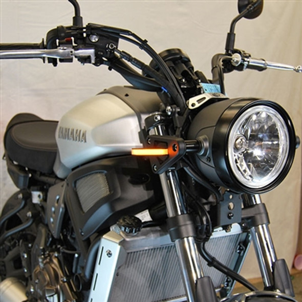 New Rage Cycles LED Front Turn Signals - 18-20 Yamaha XSR700