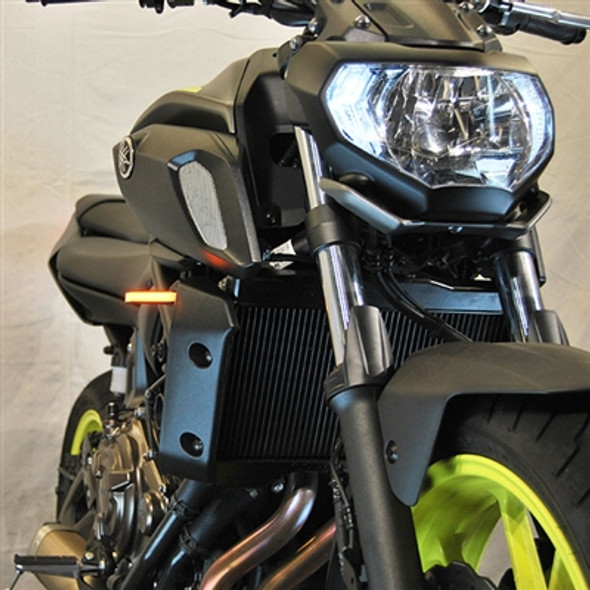 New Rage Cycles LED Front Turn Signals  - 18-20 Yamaha MT-07