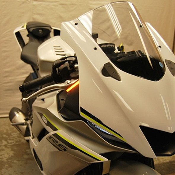 New Rage Cycles LED Front Turn Signals - 17-20 Yamaha R6