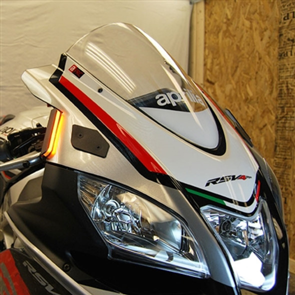 New Rage Cycles LED Front Turn Signals - 09-19 Aprilia RSV4