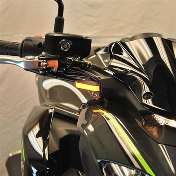 New Rage Cycles LED Front Turn Signals - 18-19 Kawasaki Z900