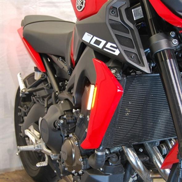 New Rage Cycles LED Front Turn Signals - 17-20 Yamaha FZ-09 / MT-09