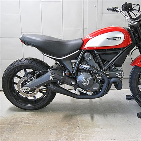 New Rage Cycles Slip-On Exhaust - Ducati Scrambler