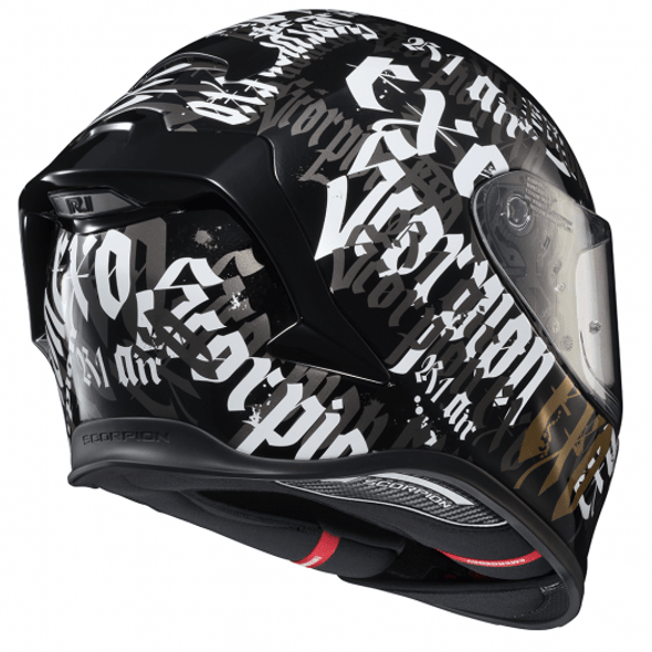 Scorpion EXO-R1 Air BlackLetter Helmet