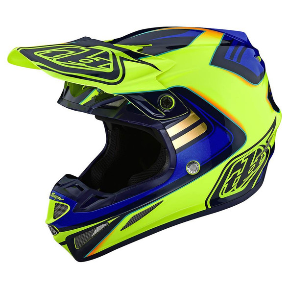 Troy Lee Designs SE4 Composite Helmet - Flash