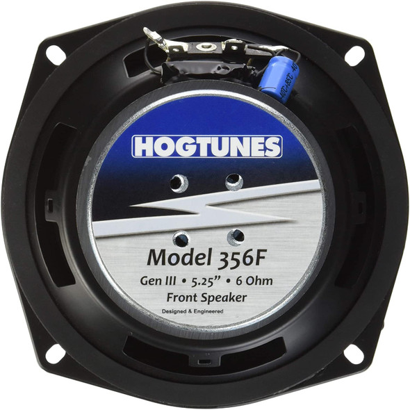 Hogtunes 356F Replacement Front Speaker for 1998-2005 Harley-Davidson FLH Touring Models