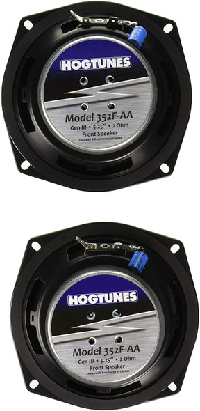 Hogtunes 352F-AA Replacement Front Speaker for 2006-2013 Harley-Davidson FLH Touring Models