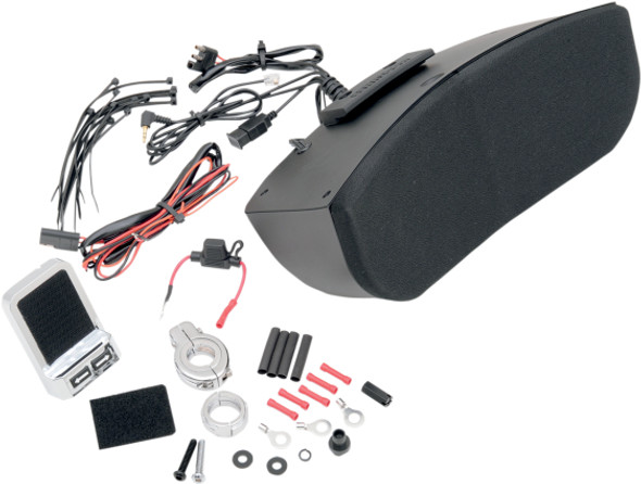 Hogtunes MSA-1 Speaker System Kit for Memphis Shades Batwing Fairing