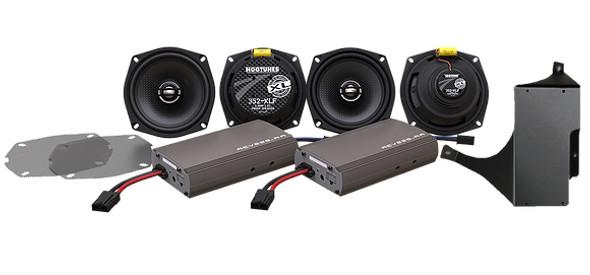 Hogtunes Ultra Kit-XL Amp/Speaker Kit - 98-13 HD FLHT Models