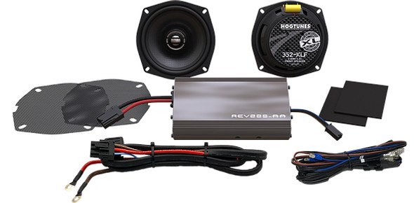 Hogtunes 225 SG KIT-XL Amp/Speaker Kit - 98-13 HD FLH
