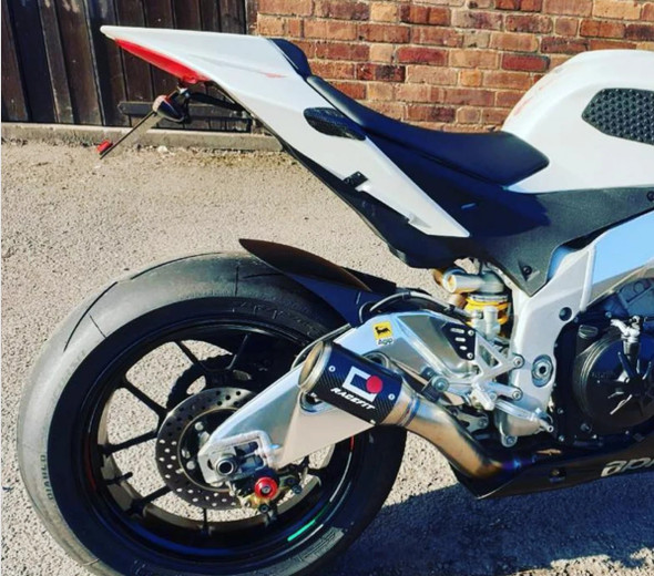 Racefit 09-14 Aprilia RSV4 Growler-X Slip-On Exhaust Systems