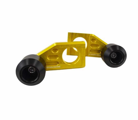 Driven Racing Axle Block Sliders 08-12 Kawasaki Ninja 250/13-17 Ninja 300/18-19 ZX 400