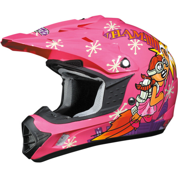AFX Youth FX-17Y Helmet - Rocket