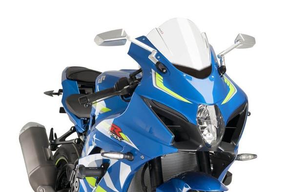 Puig Z-Racing Windscreen - 17-20 GSXR 1000