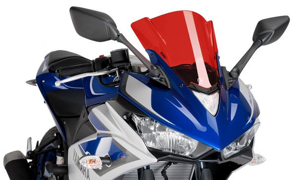 Puig Z-Racing Windscreen - 15-18 R3