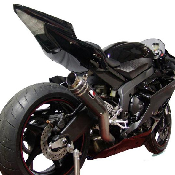Racefit 06-16 Yamaha R6 Growler Slip-On Exhaust