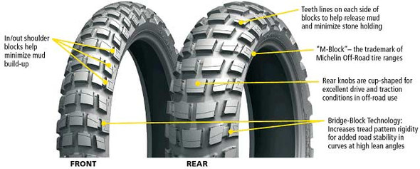 Michelin Anakee Wild Dual Sport Tires
