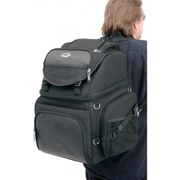 Saddlemen BR3400 Back Seat/Sissy Bar Bag