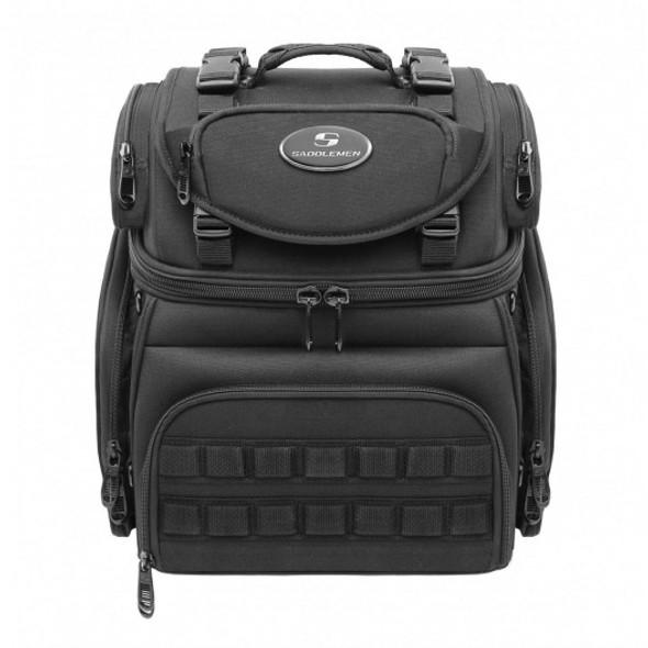 Saddlemen BR1800 Tactical Back Seat Sissy Bar Bag