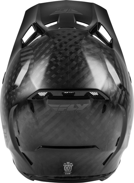 Fly Racing Formula Youth Helmet - Black Carbon