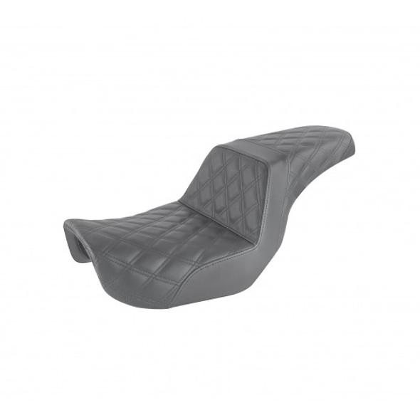 Saddlemen 06-17 FXD, FXDWG, FLD Dyna Step-Up Front & Rear LS Seat