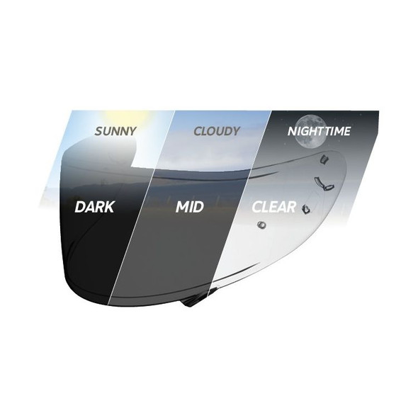 Shoei CWR-1 Transitions Faceshield