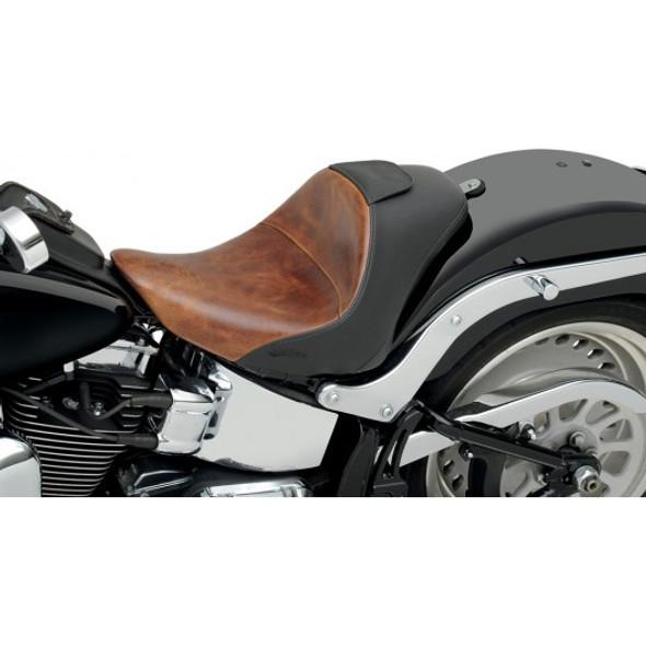 Saddlemen 06-09 FXST/B/S Standard, 07-17 FLSTF/B/S Fatboy Lariat Solo Seat