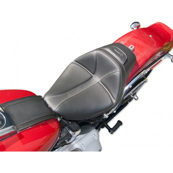 Saddlemen 06-09 FXST/B/S Standard, 07-17 FLSTF/B/S Fatboy Dominator Solo Seat