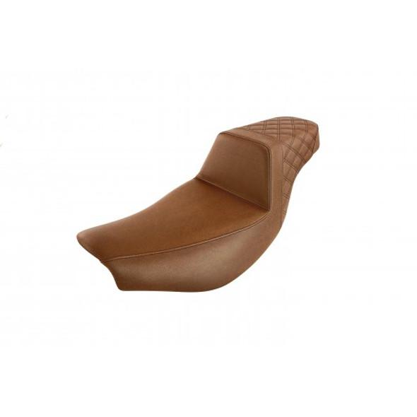 Saddlemen 14-20 Indian Touring Brown Step-Up Rear LS Seat