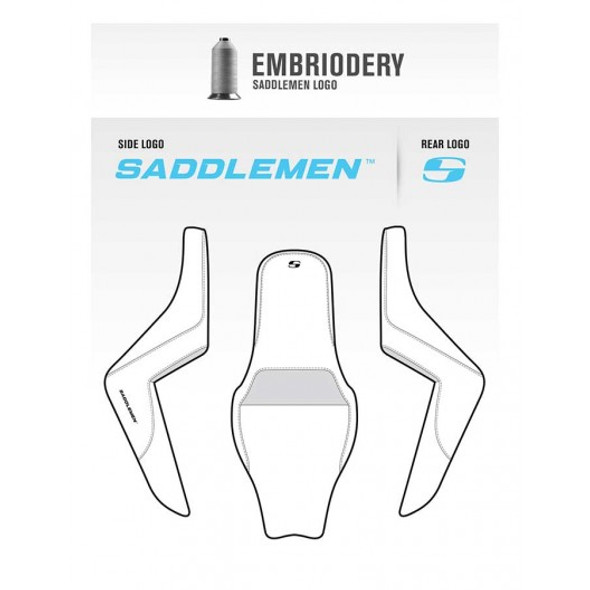 Saddlemen 13-20 Bolt/R-Spec/C-Spec Brown Step-Up Rear LS Seat