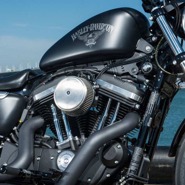 Arlen Ness Brushed Stainless Stage I Big Sucker™ Cover Kits - Smooth - 1988+ FLT/M8/XL/Twin Cam