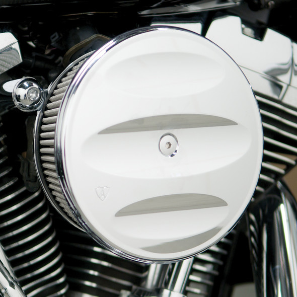 Arlen Ness Scalloped Stage II Cover - Chrome - 18-794