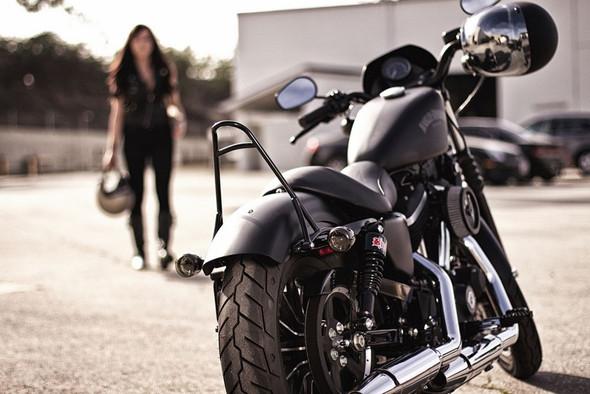 """Burly 10.5"""" Slammer Shocks For 84-17 Harley Touring Models"""