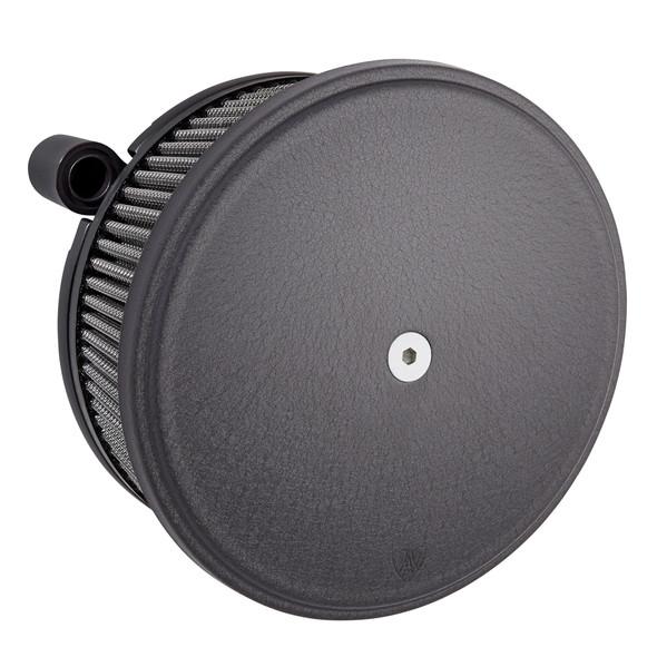 Arlen Ness Big Sucker™ Stage II Air Cleaner w/Smooth Cover - Black - 88-17 Twin Cam/EVO/XL