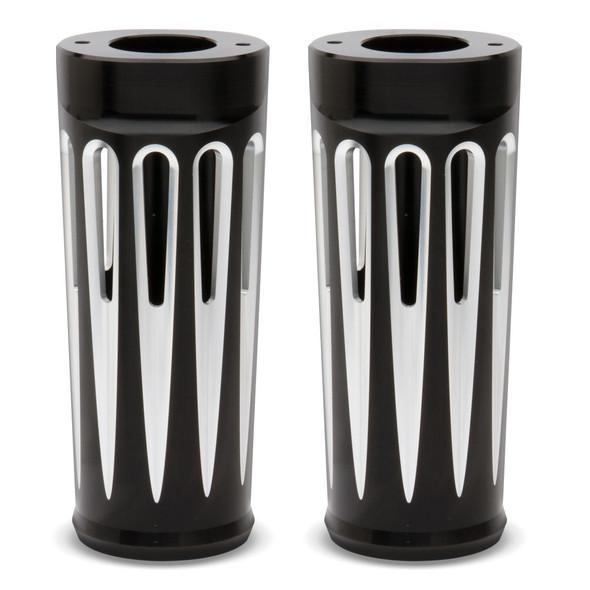 """Arlen Ness Plus 2"""" Deep Cut Fork Boots - Models 1986+ FLT, FLTR, FLHR"""