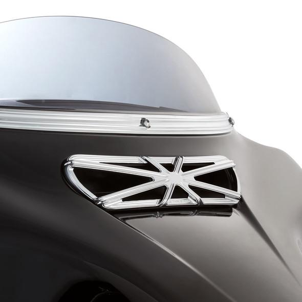 Arlen Ness 10 Gauge Fairing Insert - 2014+ FLHX/FLHT/FLHTCUTG