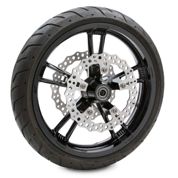 """Arlen Ness 11.8"""" Jagged Brake Front Rotor - 14-19 Touring/Dyna"""