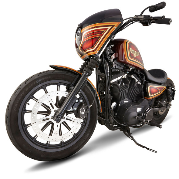 "Arlen Ness 15"" Big Brake Rotor Kits - 2000+ Sportster/Dyna/Softail Models with Hub Mounted Rotors"